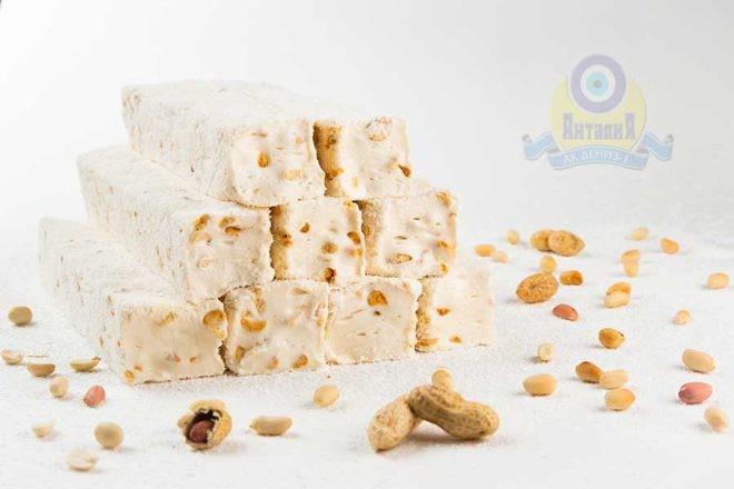 Брусковый лукум «Гарем» молочный с арахисом